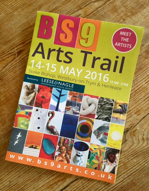 Come and see me and my mosaics at the BS9 Arts Trail!