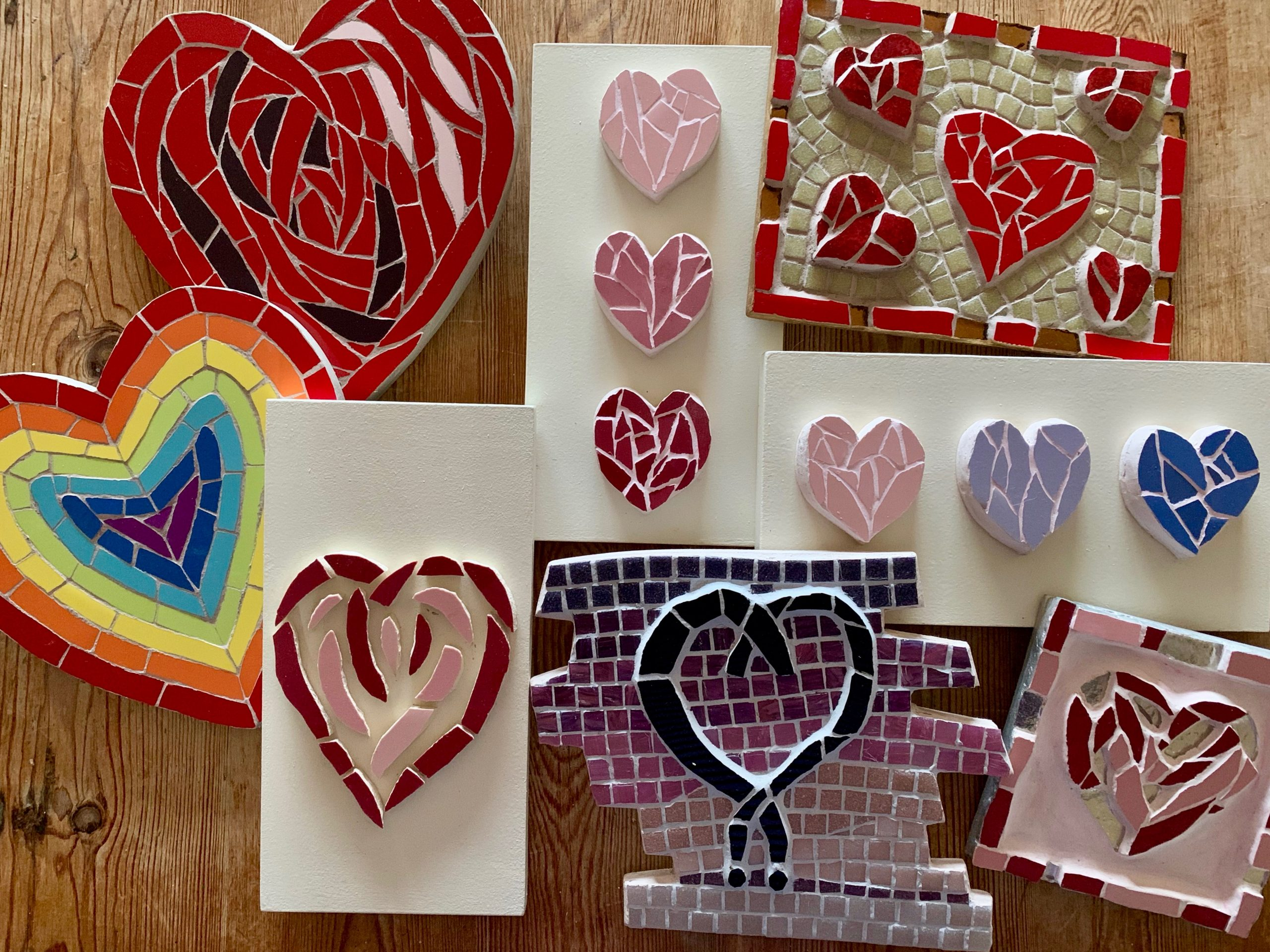Visit my newly updated online mosaic shop!