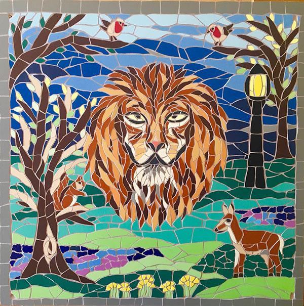 Aslan mosaic