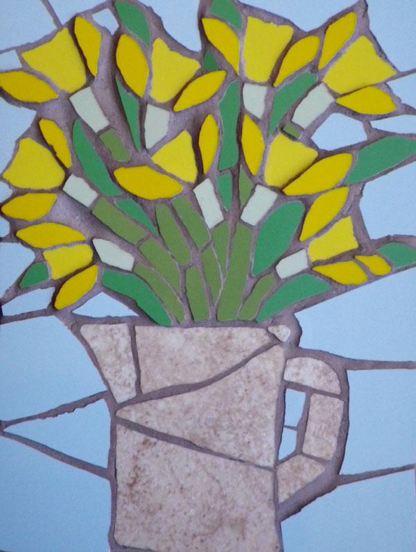 A jug of daffodils