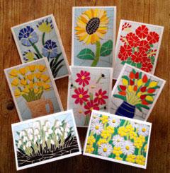 Flora mosaica cards