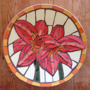 A day lily bowl