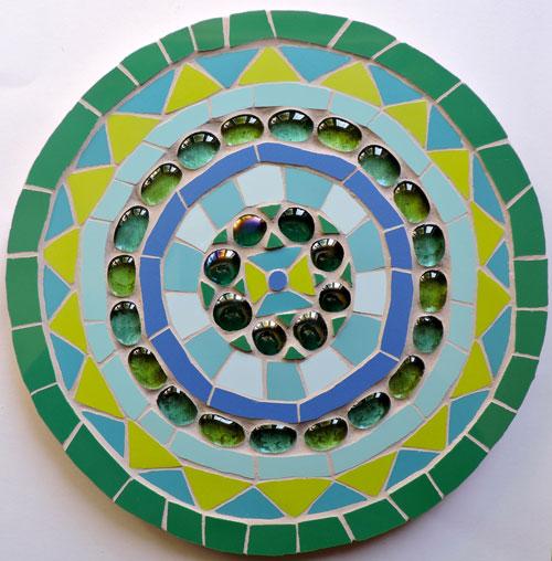 Mosaic mandala