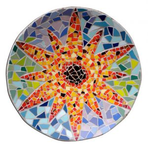 Mosaic sunbowl