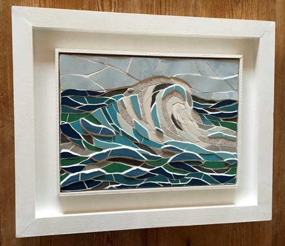 Waves mosaic
