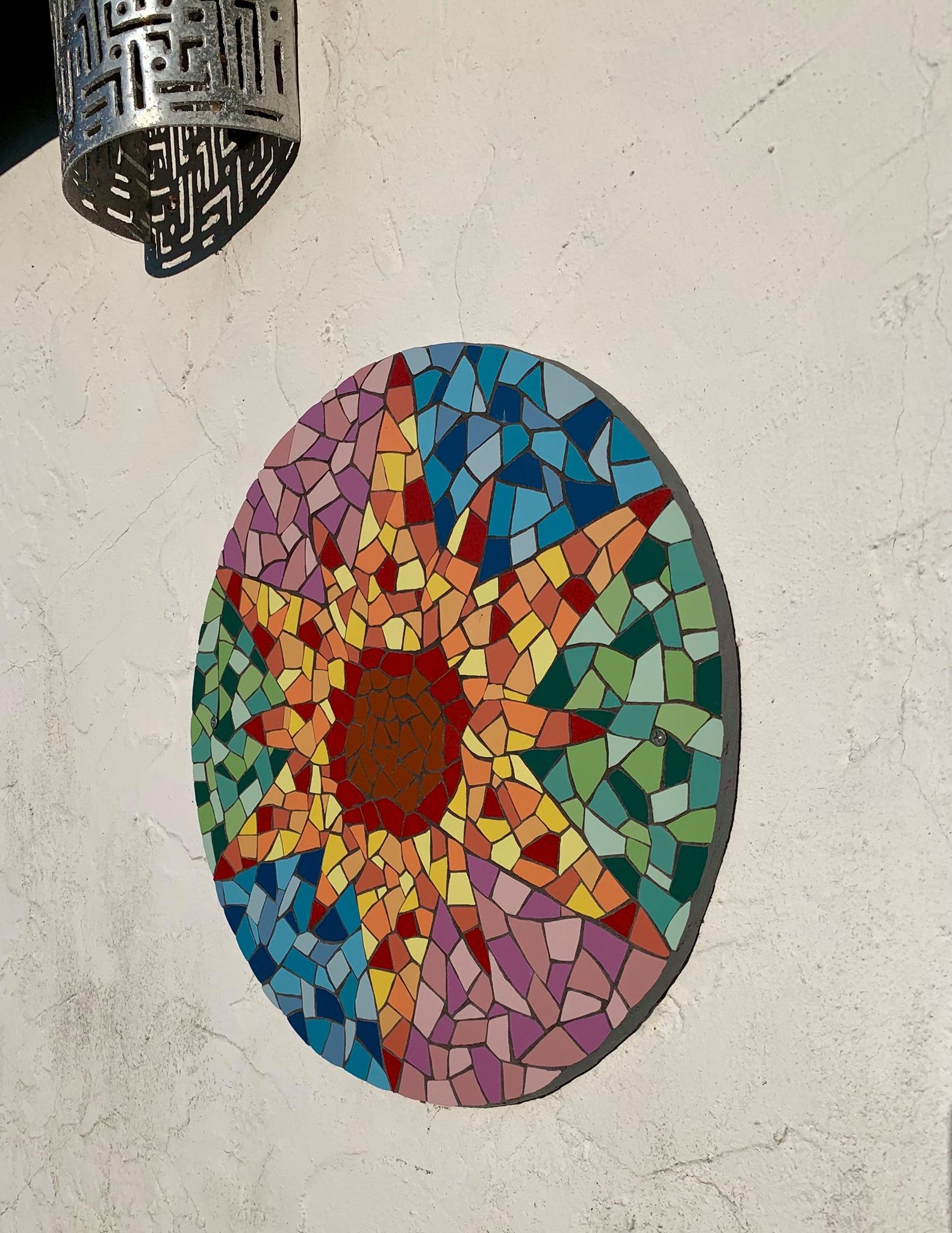 Morning sun mosaic